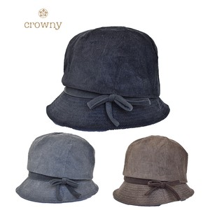 【crowny】小顔美人 ハット クロッシェ 366-2039