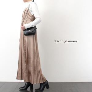 Ido Pleat One‐piece dress.
