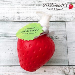 イチゴの香りの石けん ポンプリキッドタイプ【甘いストロベリーの香り】親子 家族で