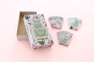Flower Rabbit Pink Blue Money Envelope Set Shop