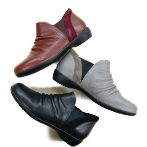 Ankle Usability Genuine Leather Short Boots
