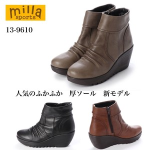 new product Fluffy 3E Soft Leather Short Boots