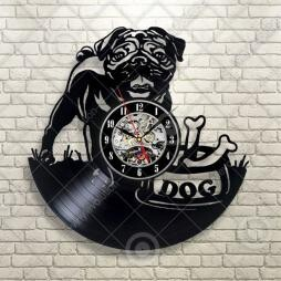 Wall Hanging Product Clock/Watch Objects and Ornaments Ornament Dog Eco Interior Display