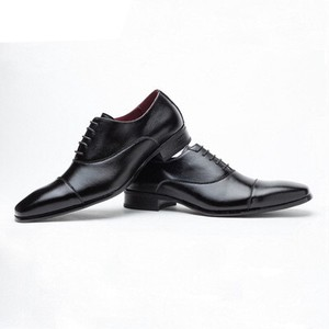 Business Shoes Men's Men's Shoe Cow Leather Shoe Straight Cow Leather Leather