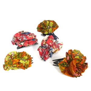 S/S Fashion India Print Hair Clip [ 2020NewItem ]