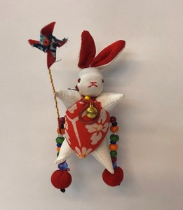 Windmill Rabbit Brooch