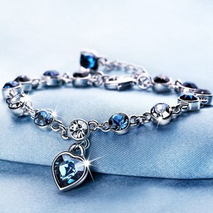HEART Bracelet Ladies Ladies Bangle Present Accessory