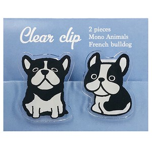 Clear Clip French Bulldog Dog