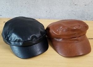 Leather Casquette Korea