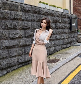 One-piece Dress Dress Set Skirt Semi-formal Sexy Formal Office Ladies