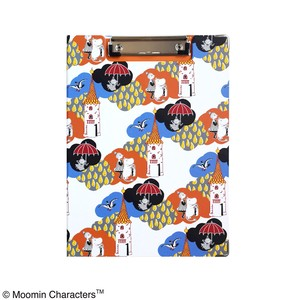 [ 2020NewItem ] The Moomins Clip Board White