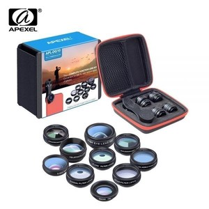 Phone Lens Kit Fish Black Lens