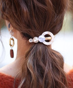 New Color Tortoiseshell Ring Hair Clip