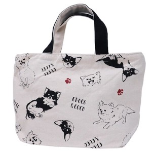 Lunch Tote Fastener Attached Bag Chihuahua