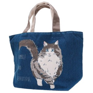 Lunch Tote Fastener Attached Bag Norway Rest Cat
