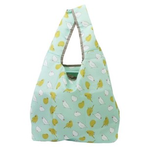 Humming Bird Folded Shopping Bag Mint