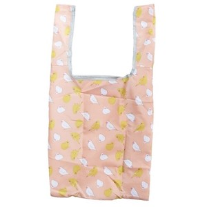 Humming Bird Folded Shopping Bag Pink