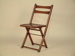 Oak Folding Chair