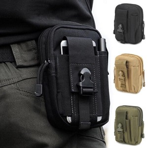Waist Bag Casual Endurance Waist Pack Belt Canvas Multiple Functions Military Bag