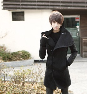 Coat Men's Coat Duffle Coat Long Coat Jacket