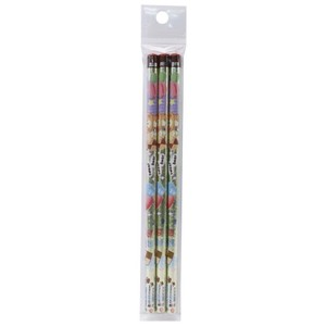 Pencil Bear Round Shank Pencil Set Of 3