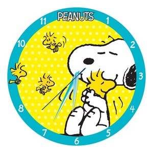 Peanuts Wall Clock Snoopy
