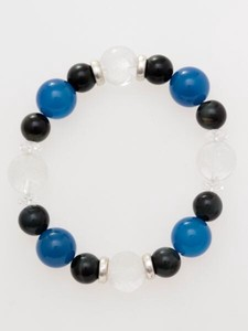 [2019NewItem] Natural stone Men's Bracelet Blue Tiger's Eye Blue