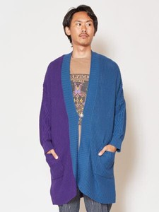[2019NewItem] Tone Cotton Knitted Long Cardigan
