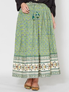 [2019NewItem] Print Long Skirt