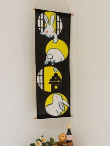Design Hand Towel Tapestry Rabbit