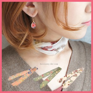 Floral Pattern Scarf Ribbon