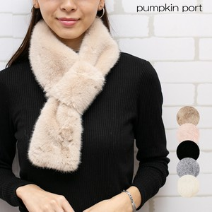 Fake Fur Plain Snood