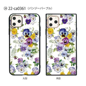 Smartphone Case Series Pansy Purple