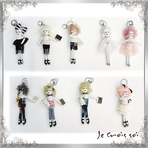 [ 2020NewItem ] 9 Types Charm Mobile Phone Brand Charm Doll