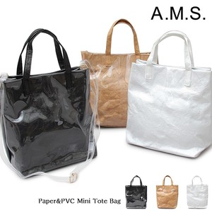 Paper Hand Tote Shoulder Bag Vinyl Bag