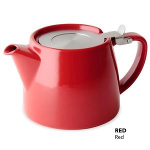 FORLIFE スタンプティーポット 530ml 茶こし付き 食器洗い機OK ホテル・レストラン・カフェ用