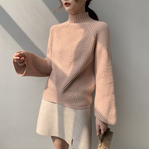 A/W Knitted Top Marty Mall Neck Over Top