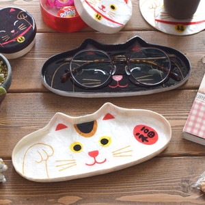 [ 2020NewItem ] Glasses Tray Beckoning cat