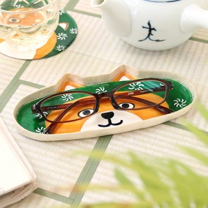 "[ 2020NewItem ] Glasses Tray ""Furoshiki"" Japanese Traditional Wrapping Cloth Shiba Dog"