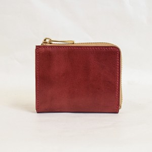Himeji Fastener Compact Wallet Wine Men's Ladies Wine