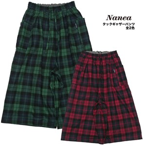 A/W A/W Gigging Checkered Tuck Gather Pants