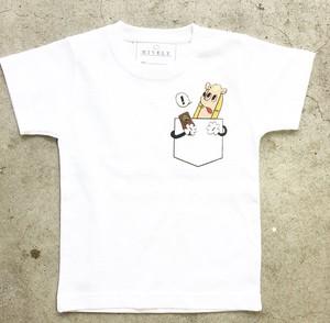 HOT DOG KIDS 親子コーデTシャツ WHITE