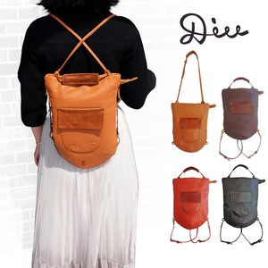 Backpack Leather Ladies Genuine Leather Leather Hand Maid