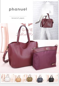 Purse Nylon Bag Diagonally Elegant Outing Commuting