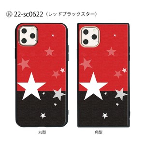 Smartphone Case Series Red Black Star