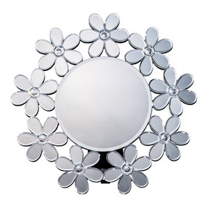 Round shape Mirror Flower