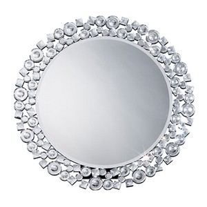 Round shape Mirror Crystal