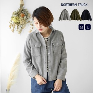 Shirt Blouson Jacket Ladies Rack Wool Shirt