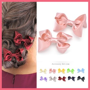 2Pcs set Ribbon Hair Clip