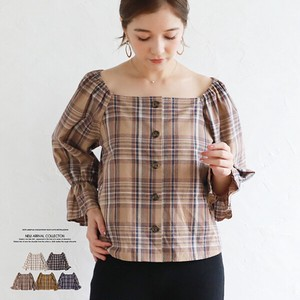 A/W Square Neck Blouse Top